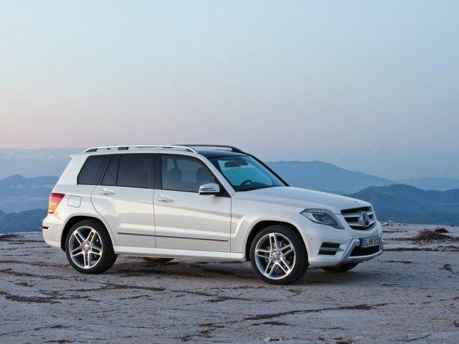 Обновленный Mercedes GLK 2013 дебютирует в Нью-йорке (9 фото + видео)