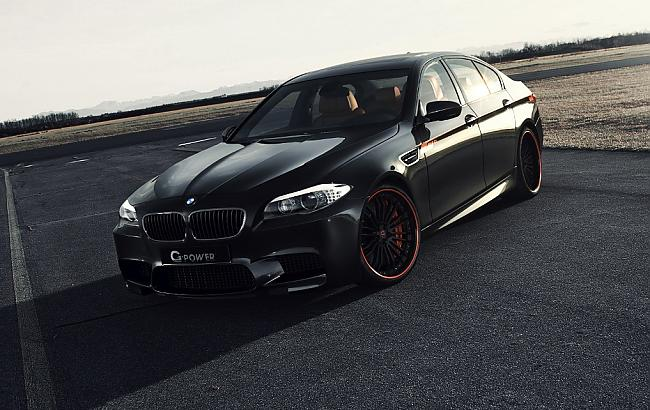 BMW F10 M5 G-power (5 фото)