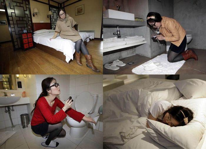 Профессиональный тестер гостиниц из Китая (17 фото)