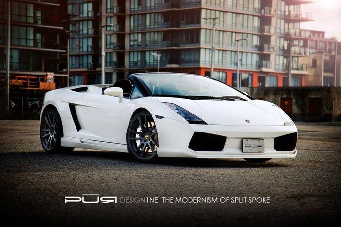 Lamborghini Gallardo Spyder от Hamann обули в ателье PUR Wheels (5 фото)