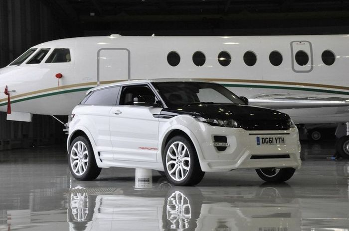 Range Rover Evoque от тюнеров из Merdad Collection (10 фото+видео)
