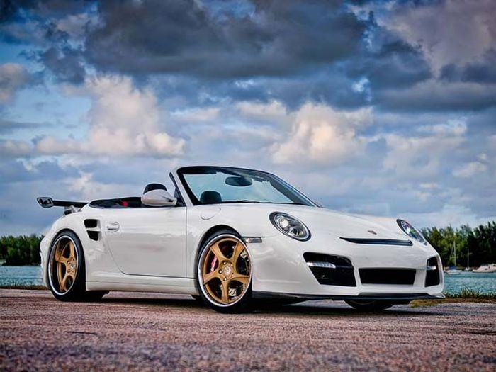 VR-T Twin Turbo Cabriolet от Vorsteiner и Wheels Boutique (8 фото)