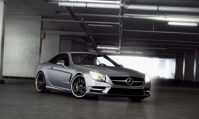 Mercedes-Benz SL R231 от тюнеров из Wheelsandmore (4 фото)