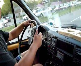 Быдло водитель маршрутки