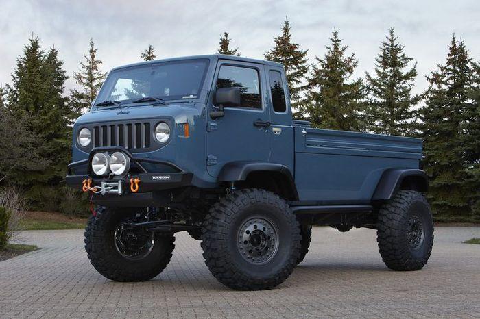 Компания Jeep покажет 6 концептов на Easter Jeep Safari в пустыне (20 фото)
