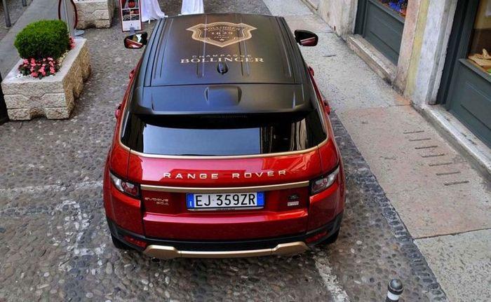 Range Rover Evoque Bollinger от ателье Aznom (9 фото)