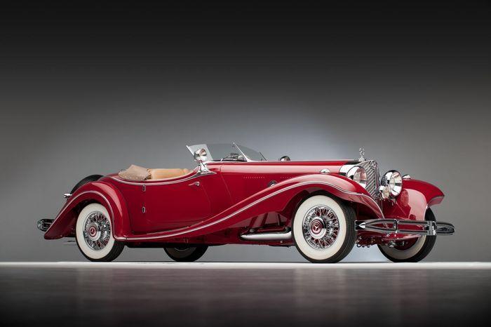 Владелец Mercedes-Benz 500 K образца 1935 года может лишиться раритета (31 фото)