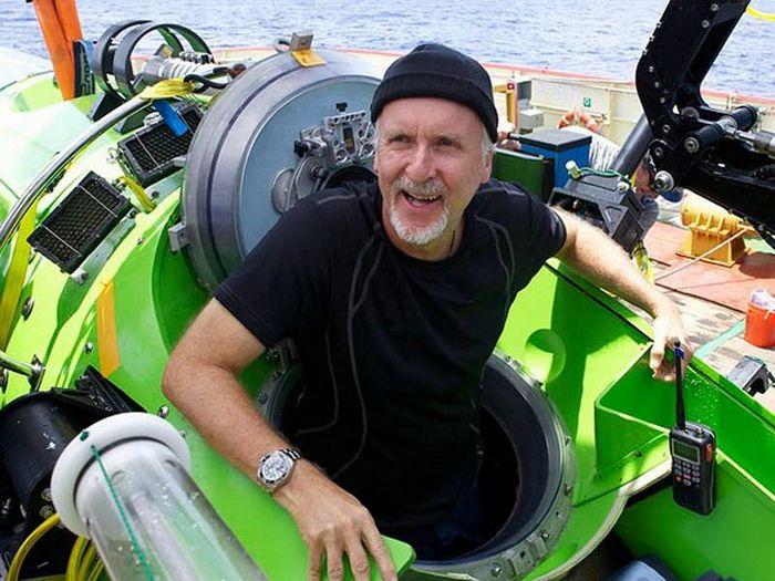 Режиссер Титаника совершил одиночное погружение на дно Марианской впадины (6 фото + 2 видео)
