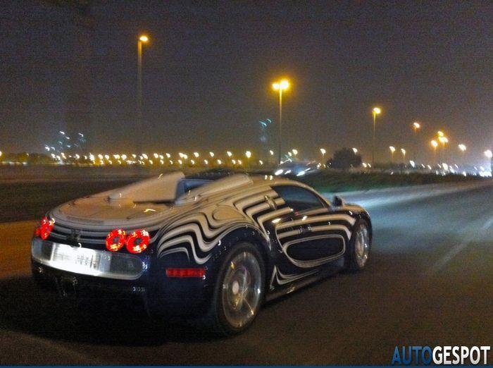 Фарфоровый Bugatti Veyron засветился в Саудовской Аравии (11 фото)