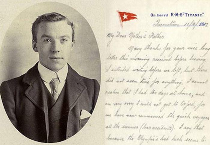 Письмо-прорицание гибели Титаника продают за $57000 (2 фото)