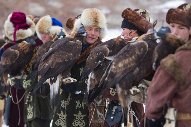 La caza con águilas en Kazajistán 8