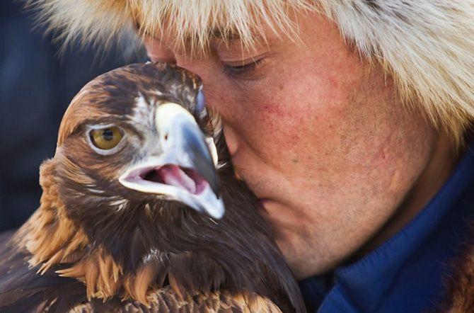 La caza con águilas en Kazajistán 9
