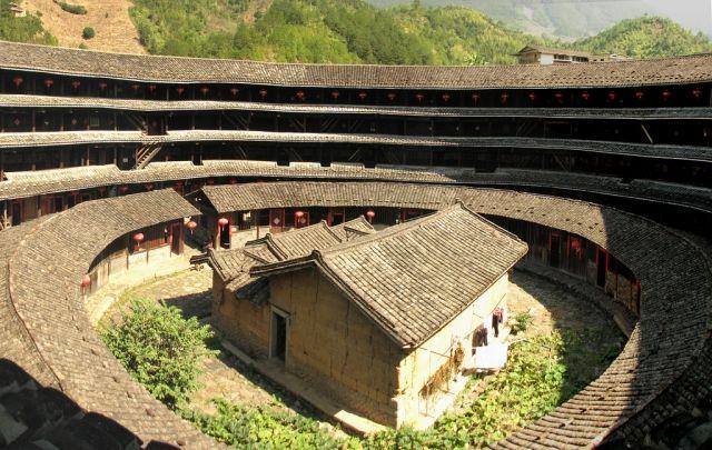 фуцзянь, строение, провинция,китай