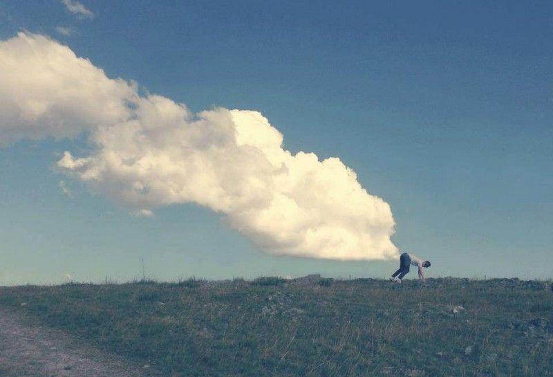Шикарное фото выходит, облако, прикольная фотографи