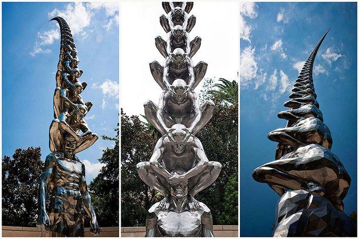 карма, луизиана, парк, скульптуры, фигуры