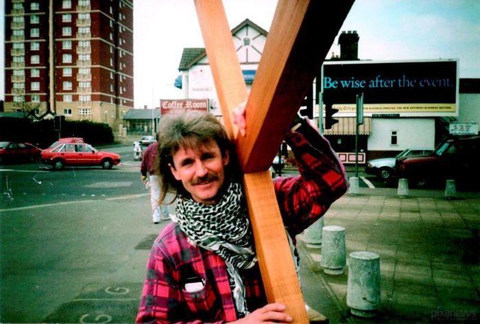 христианин, крест, распятие