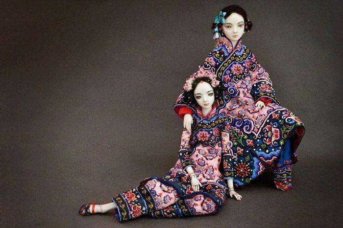 куклы, фарфор