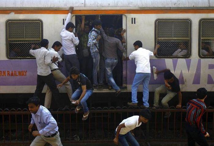 железная дорога, железнодорожный, индия, поезд, транспорт