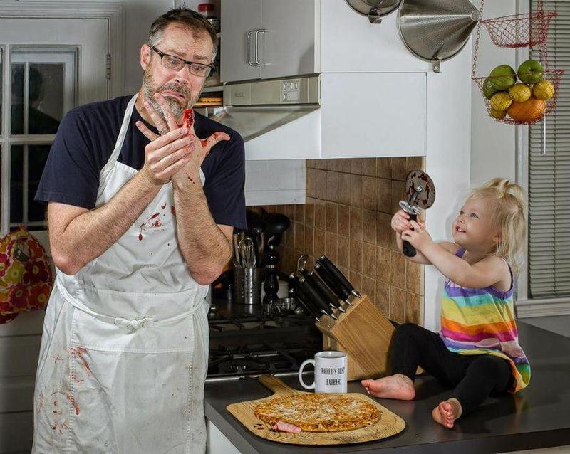 Картинки папа с ребенком приколы, картинки