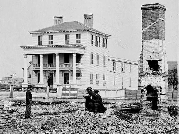 Гражданская война в сша 1861 1865 120 фото