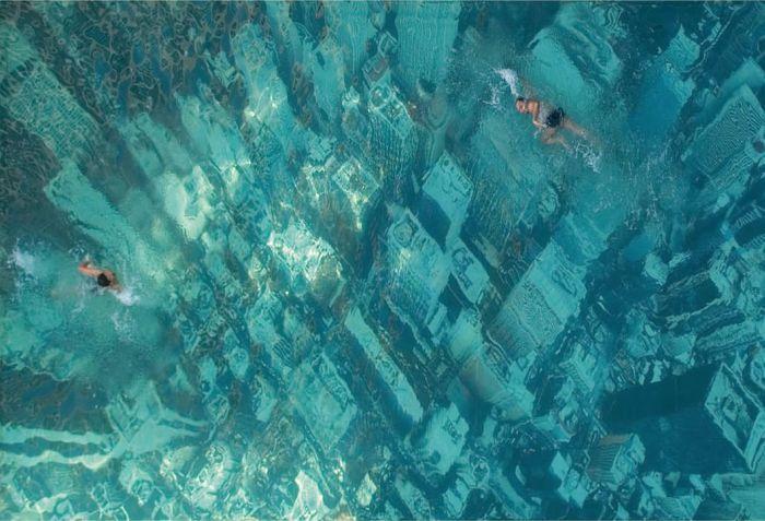 Яркие фото вода, крутая фотка, нью-йорк, под водой, прикол