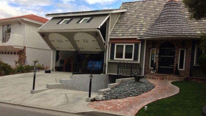Смешные картинки гараж, двор, дизайн, домик, интерьер, круто