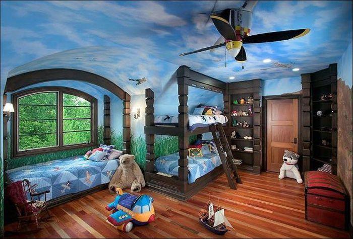 Бесплатно фото детская, дизайн, интерьер, уютная комната