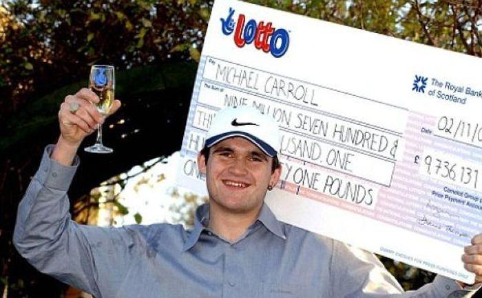 лотерея, выигрыш, мусорщик