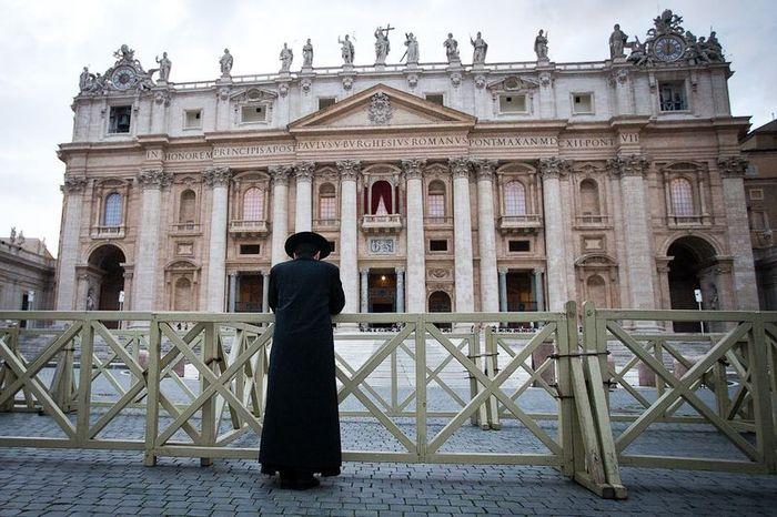 папа римский, выборы, площадь