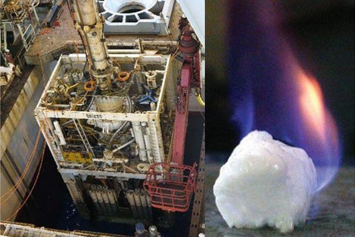 гидраты метана, газ, япония, добыча, ископаемые