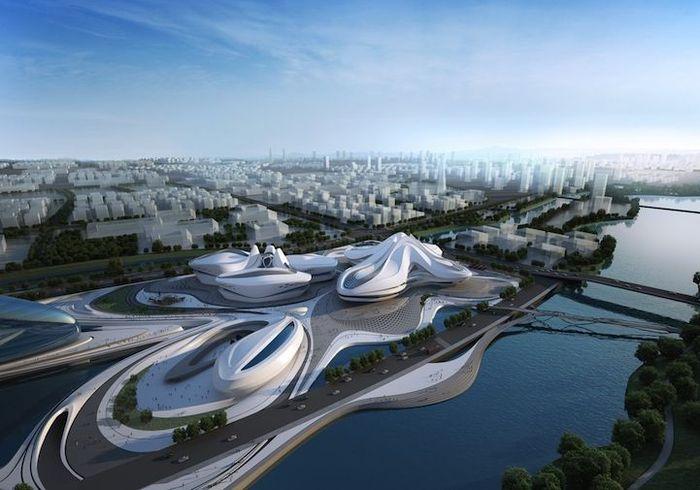 архитектор, строительство, проект, центр, здание