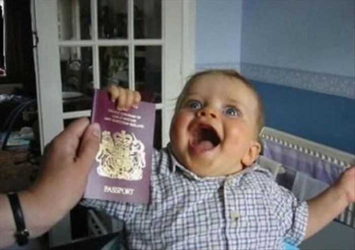 Фотоприкол недели выражение лица, паспорт, прикол, ребенок