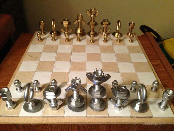 Бесплатный фотоприкол необычная вещь, прикольно, шахматы