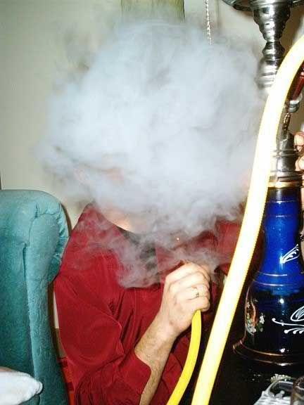 Крутые фотки кальян, курит, облако дыма