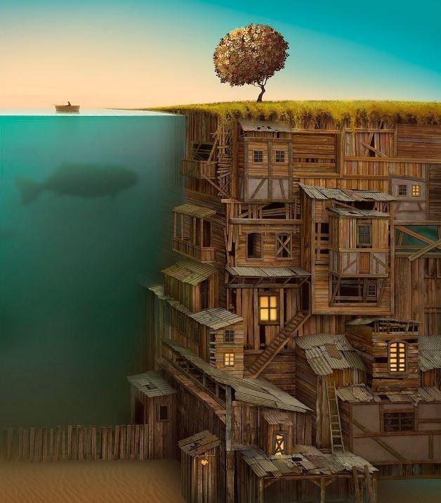 Бесплатно фото вид сбоку, крутая картинка, под водой, рыбина