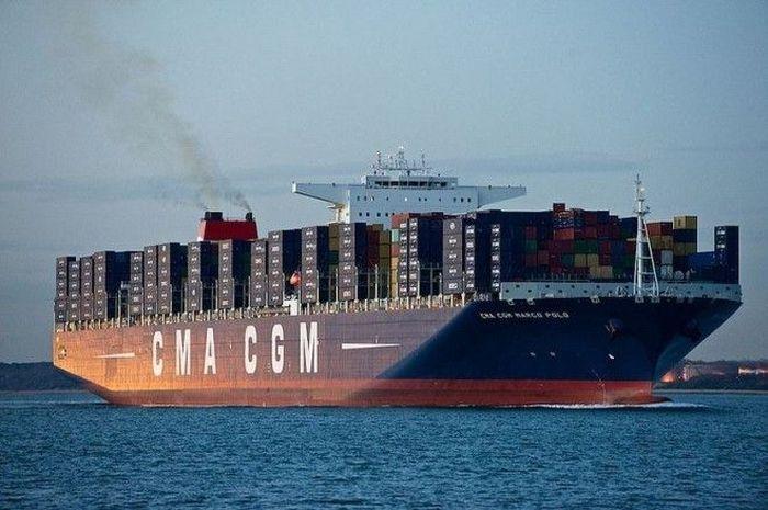 Самый большой корабль в мире 7 фото