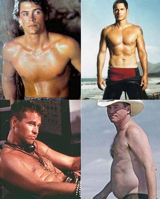 знаменитости , 90-е, актеры, секс символ, тогда и сейчас, торс