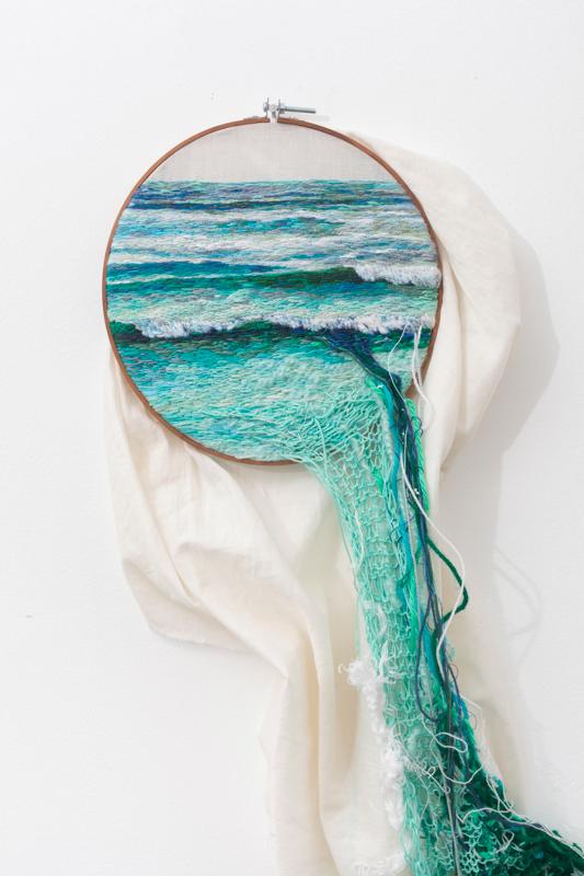 Фотожесть вода, вышивание, креатив, рукоделие