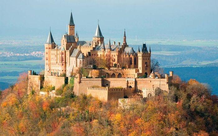 замки, крепость, красота, пейзаж