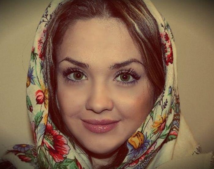 Несколько фото одной славянской девушки