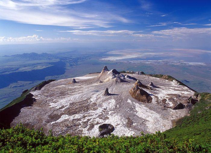 вулкан, горы, танзания