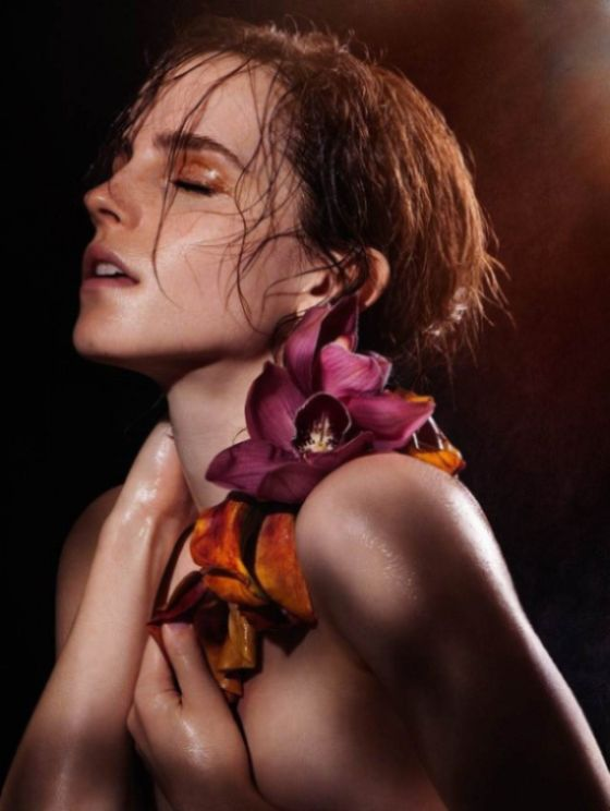 Emma Watson se desnuda para Natural Beauty 1