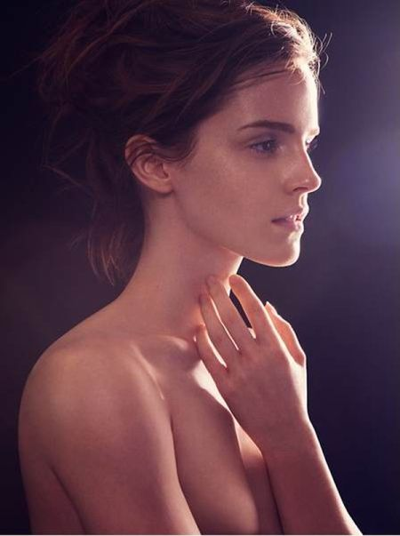 Emma Watson se desnuda para Natural Beauty 4