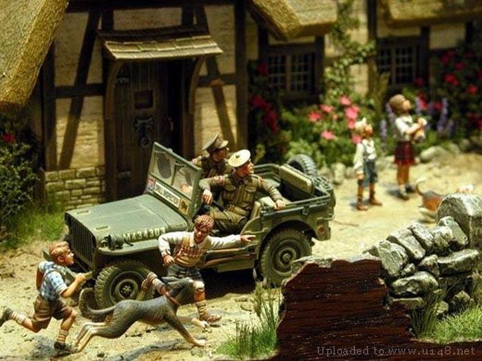 Modelos realistas de acción militar  33