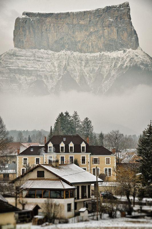 горы, франция, природа,