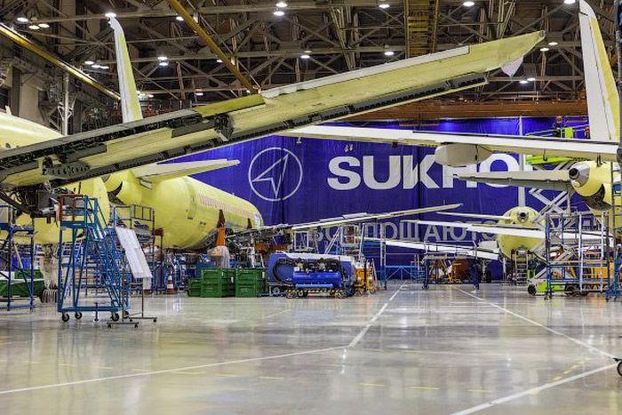 самолет, производство