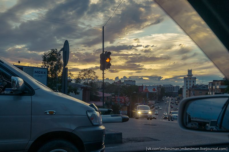 Фотоподборка город, закат, небосвод, облака