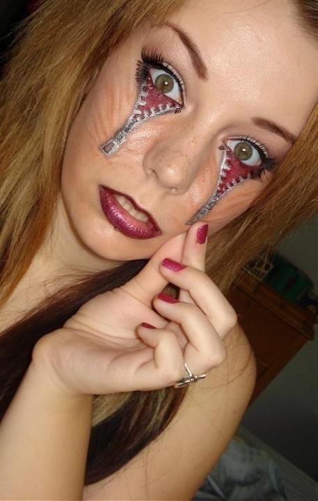 Смешная фотогалерея боди-арт, глаза, рисунок на лице