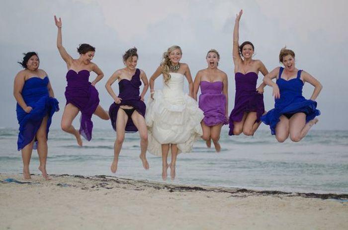 Фото групповое фото, засвет, подружки, свадьба
