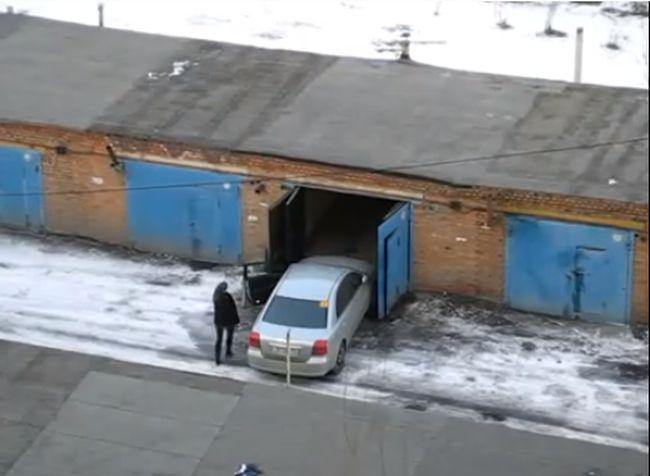 гараж, видеоинструкция, девушка,